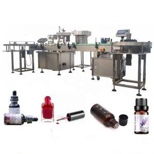 3 KW eeterlike õlide pudelite täitmismasin imemise tilgutusvastase seadmega