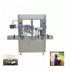 Alumiiniumist viaali pihustuspudeli täitmise masin