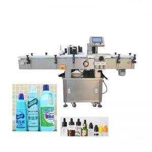 Automaatne desinfitseeriva vedeliku pudeli märgistamise masin