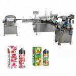 5-35 pudelit / min automaatne vedeliku täitmise masin 10 ml / 30 ml klaaspudeli tilguti jaoks