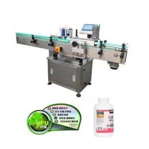 Automaatne vertikaalse plastikust klaaspudelimärgistamise masin
