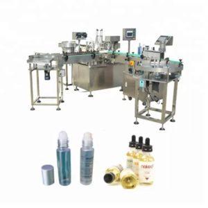 Kuuliga viaali vedeliku täitmise masin