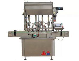 CE-standardse kastmega pastapudeli täitmise masin
