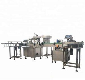 Suure mahutavusega pudelite automaatne täitmise ja korkimise masin