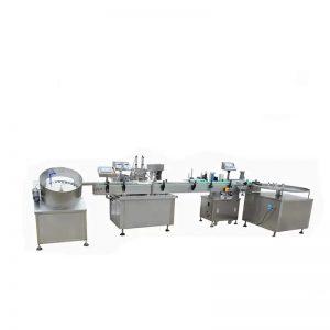 Kiire e-vedeliku täitmise masin