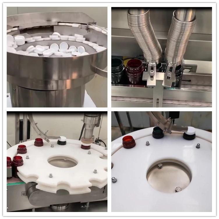 NP-SL60 topeltpead arvestavad pillid masinaga villitud kapslitäidis