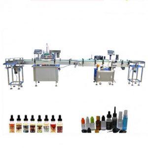 Klaasist tilguti jaoks mõeldud PLC Control elektrooniline vedeliku täitmise masin