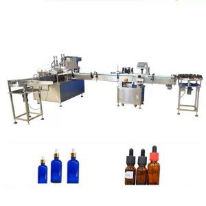 PLC Control Essential Oil Pudeli täitmise masin