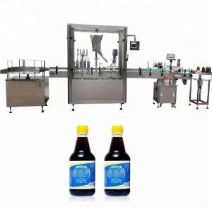 PLC kontrollklaasist pudeli korkimismasin 4 pihustiga
