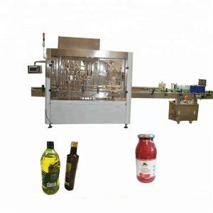 PLC kontrolli PET pudelite täitmise ja korkimise masin