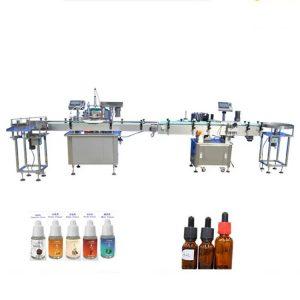 Parfüümide täitmise masin tilguti klaaspudelite jaoks