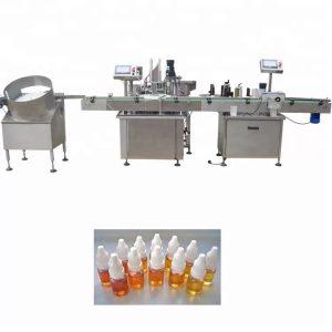 Peristaltilise pumba eeterliku õli täitmise masin