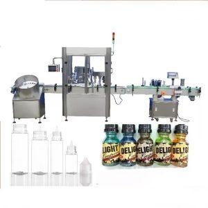 Servomootori tilguti pudeli täitmise masin