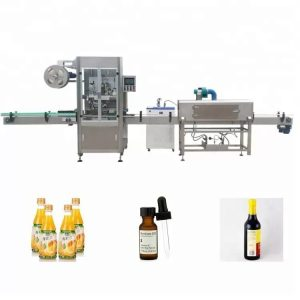 Varruka kahaneva pudeli märgistamise masin