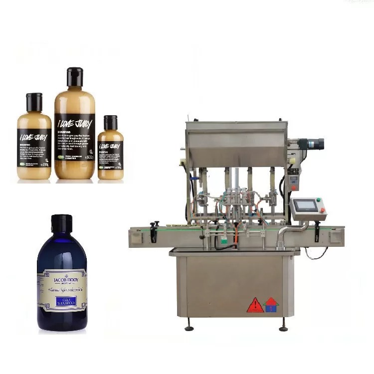 Astmeline mootoriga klaaspudelite täitmise masin