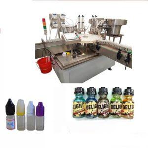 Puutetundliku ekraaniga märgistusmasin väikeste pudelite jaoks