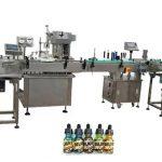 Kaks pead täisautomaatsete pudelite täitmiseks 30 ml merevaigupudelite jaoks
